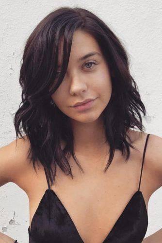 Corte en capas para cabello mediano