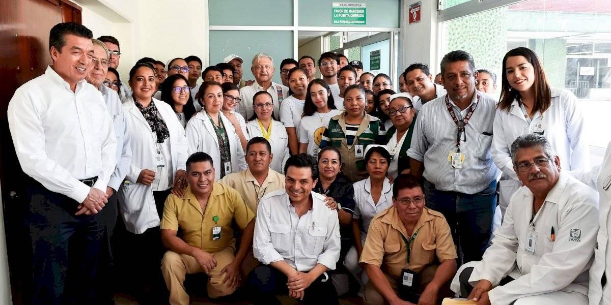Gira por hospitales es para conocer, actuar y transformar: Zoé Robledo