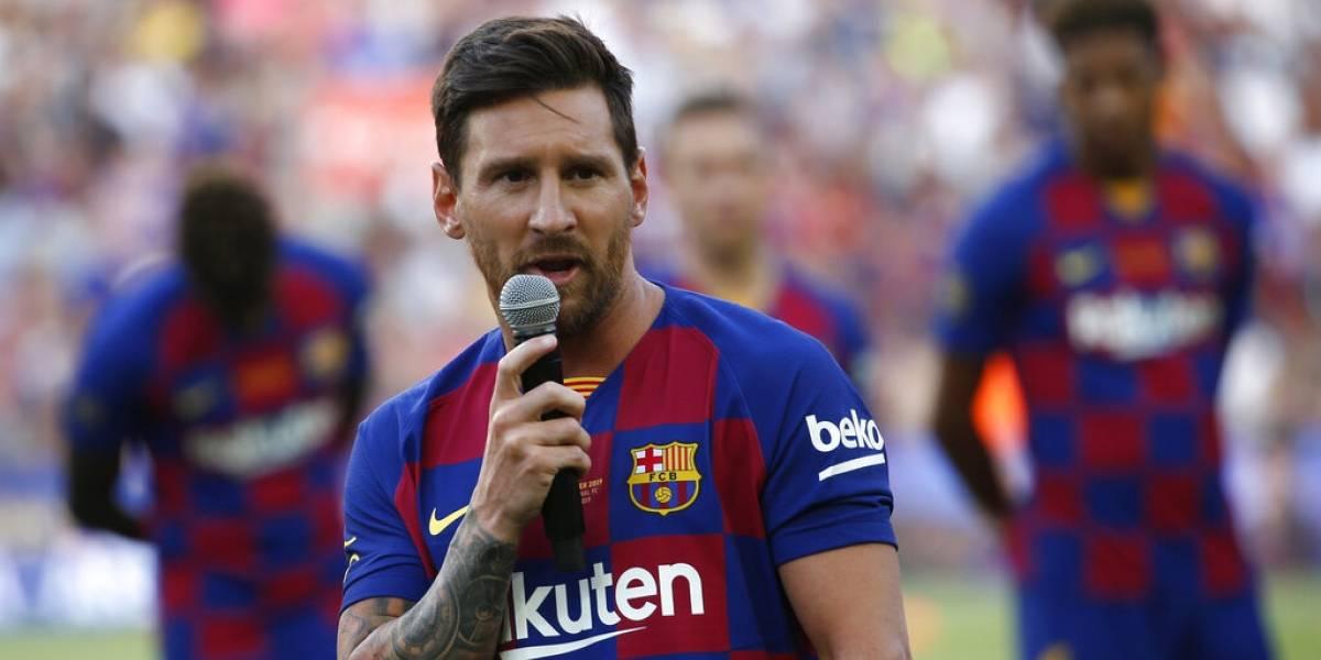 Messi se lesiona la pantorrilla y no viajará a Estados Unidos para partidos de pretemporada
