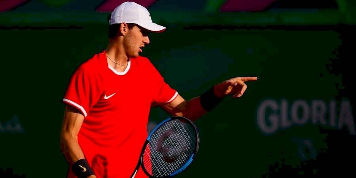 Nicolás Jarry cambia de rival a un día de su debut en el US Open 2019