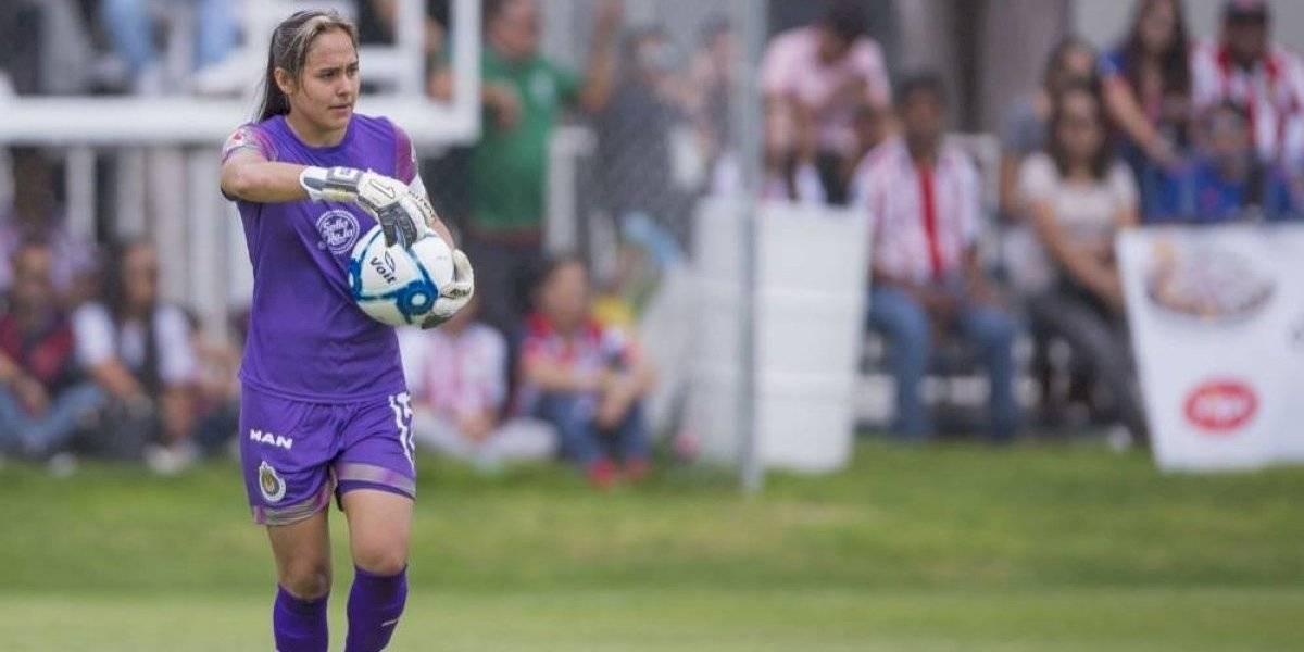 Blanca Félix cumplió su sueño de ser capitana de Chivas