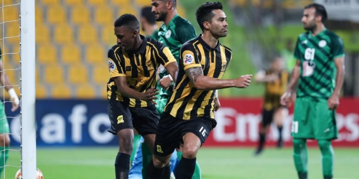Al Ittihad del Coto Sierra gana en la Champions de Asia con gol del Mago Jiménez