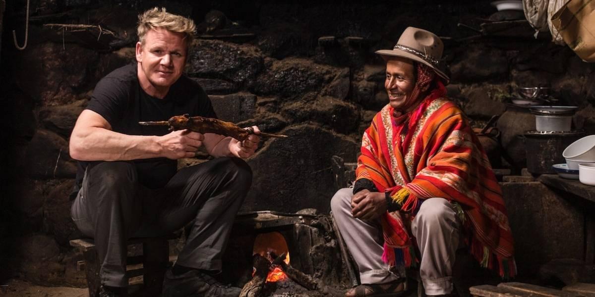 """""""Gordon Ramsay: Sabores extremos"""": La nueva apuesta del chef más temido de la TV"""