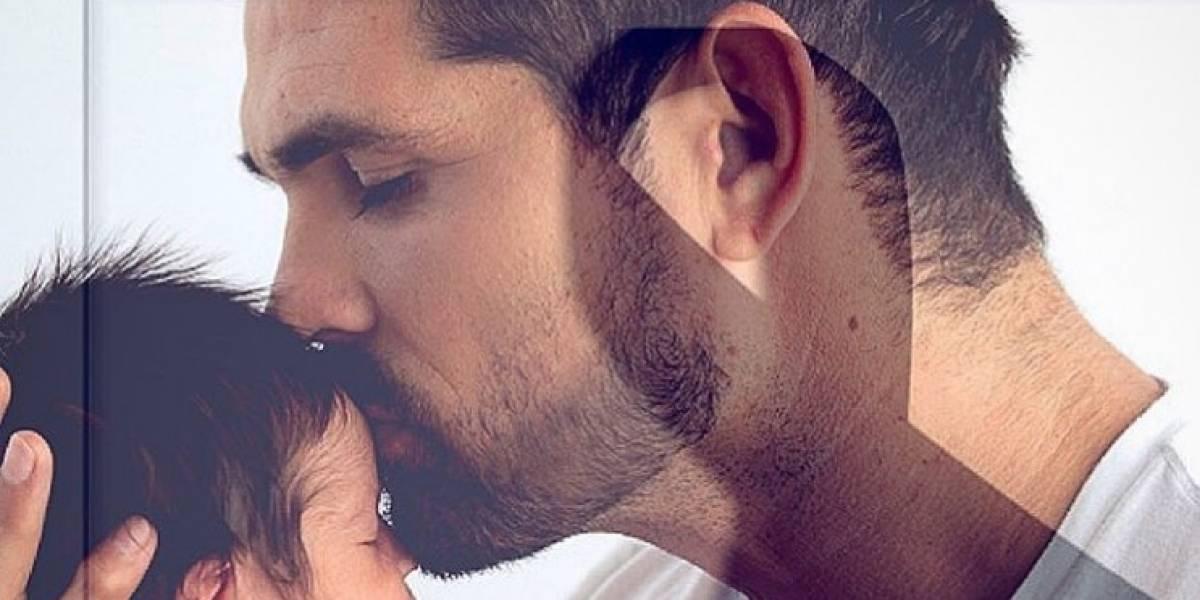 """""""Adiós, mi amor"""": famoso actor se despide de su bebé, quien murió con tan solo tres meses de nacido"""