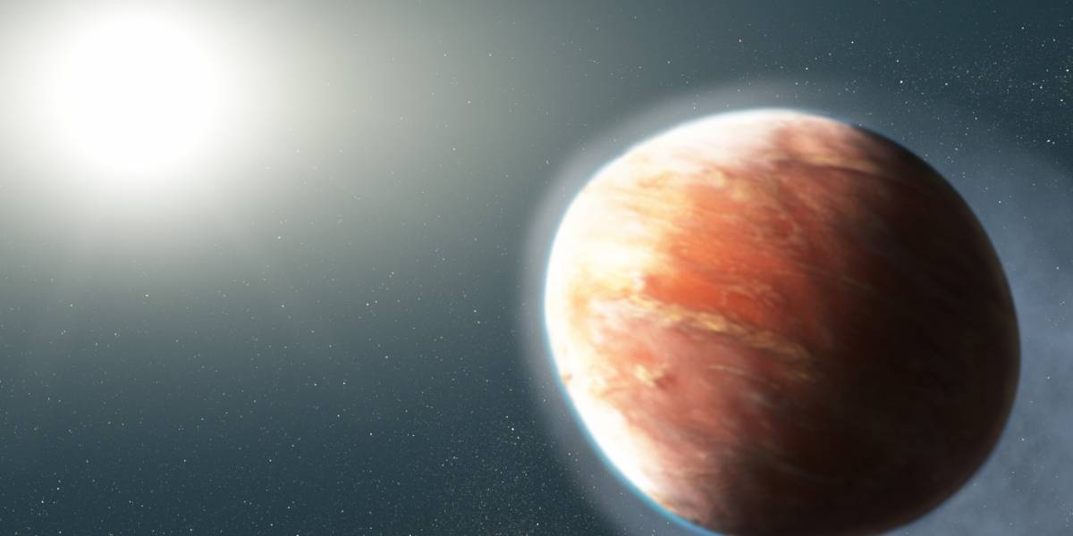 NASA descobre planeta de 'metal pesado' que tem forma inusitada