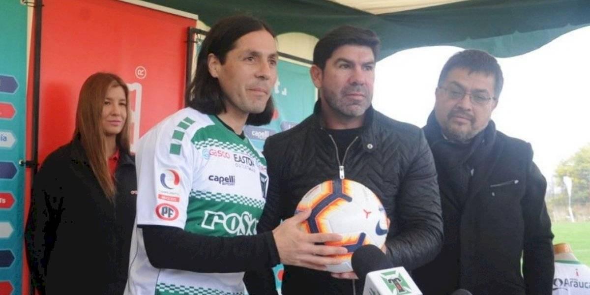 Temuco golpea el mercado de Primera B y confirma el regreso de Hugo Droguett