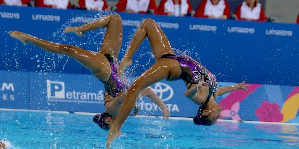 FOTOS. Guatemala compite por primera vez en natación artística en Panamericanos