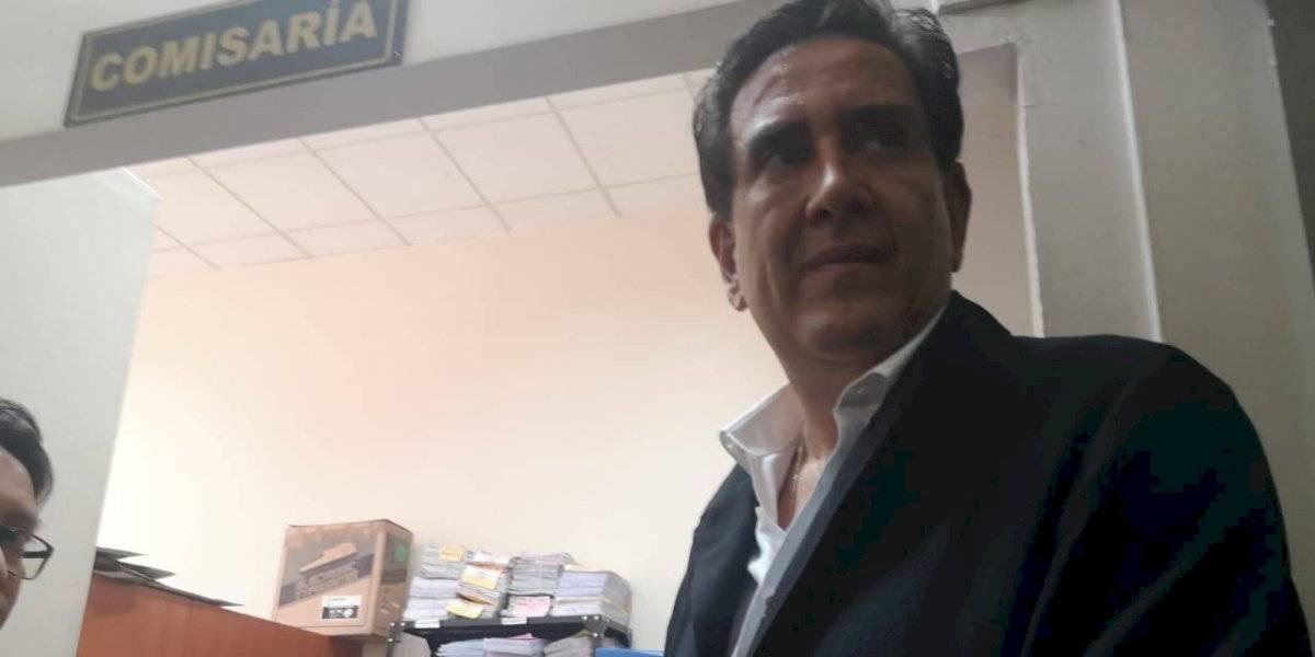 """""""No hay justicia"""", señala Gustavo Alejos al presentarse a Tribunales"""