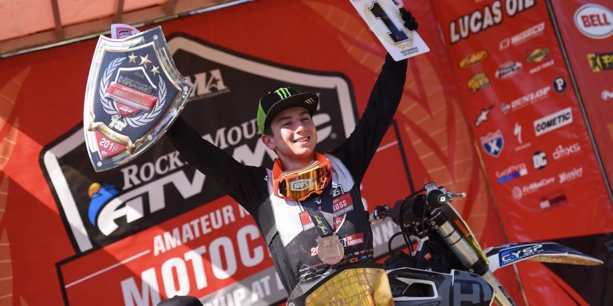 El temuquense Hardy Muñoz logra un extraordinario resultado en el motocross estadounidense
