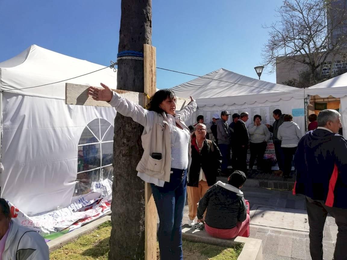Huelga de hambre jubilados