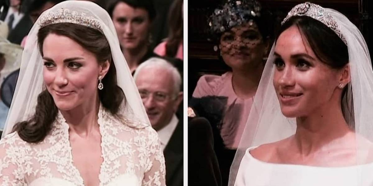 La extraña tradición que obligó a Meghan Markle y Kate Middleton pagar sus vestidos de novia