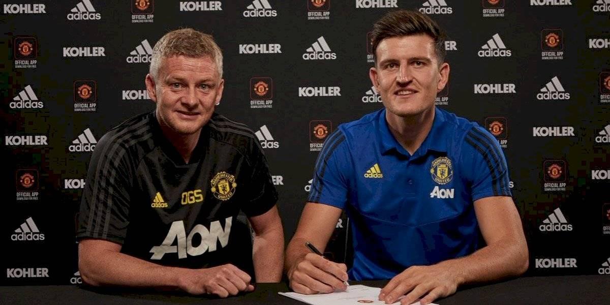 El defensor más caro de la historia: Manchester United anuncia el fichaje de Harry Maguire