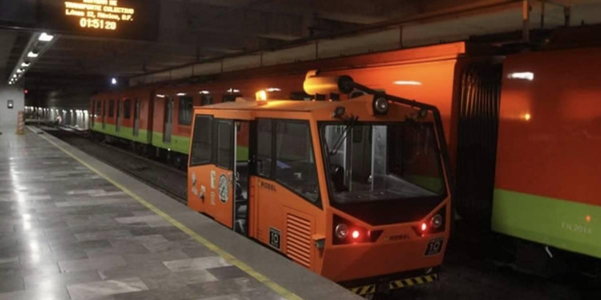 El STC utiliza 'Metro bebé' para mantenimiento nocturno