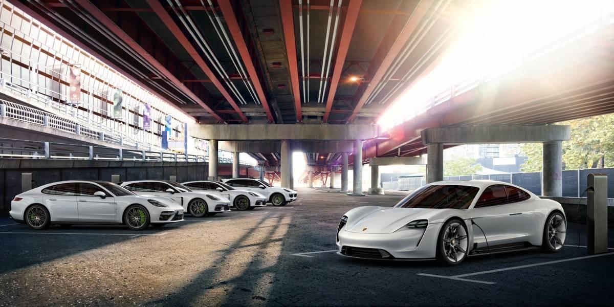 Porsche pavimenta su ingreso a la electromovilidad