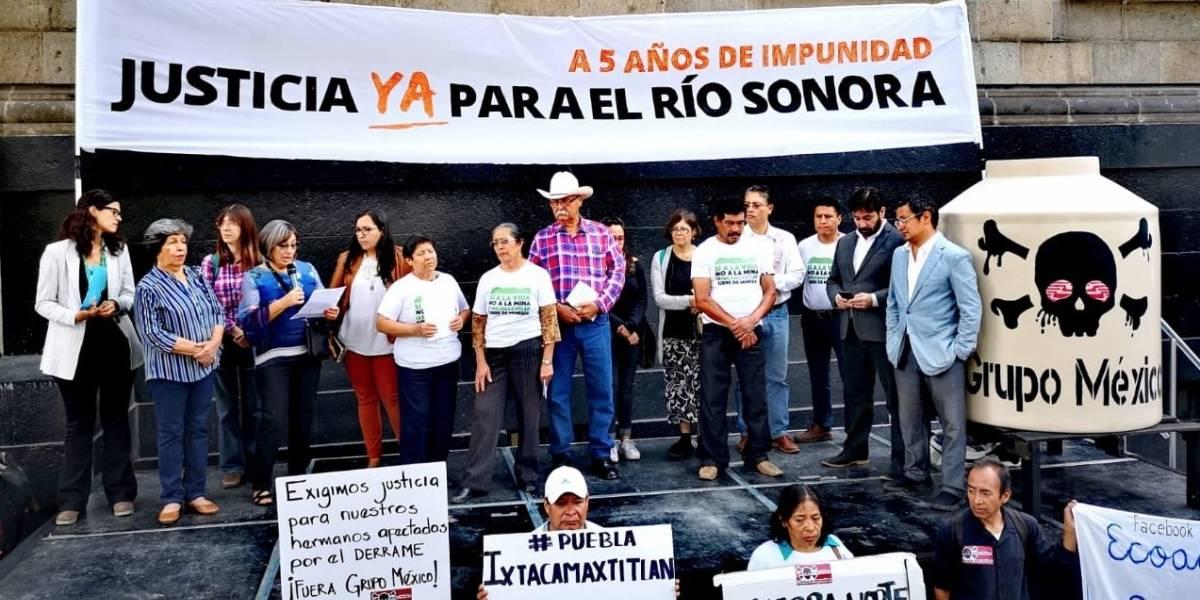 A cinco años del derrame en Río Sonora, afectados demandan justicia