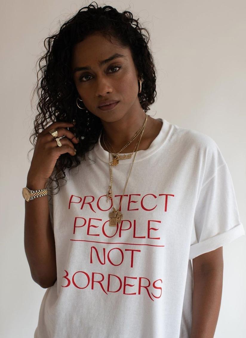 migrantes en la frontera