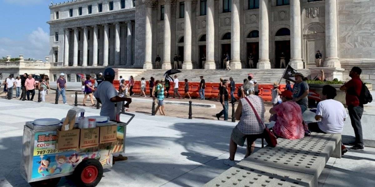 Protestan frente al Capitolio contra Pedro Pierluisi