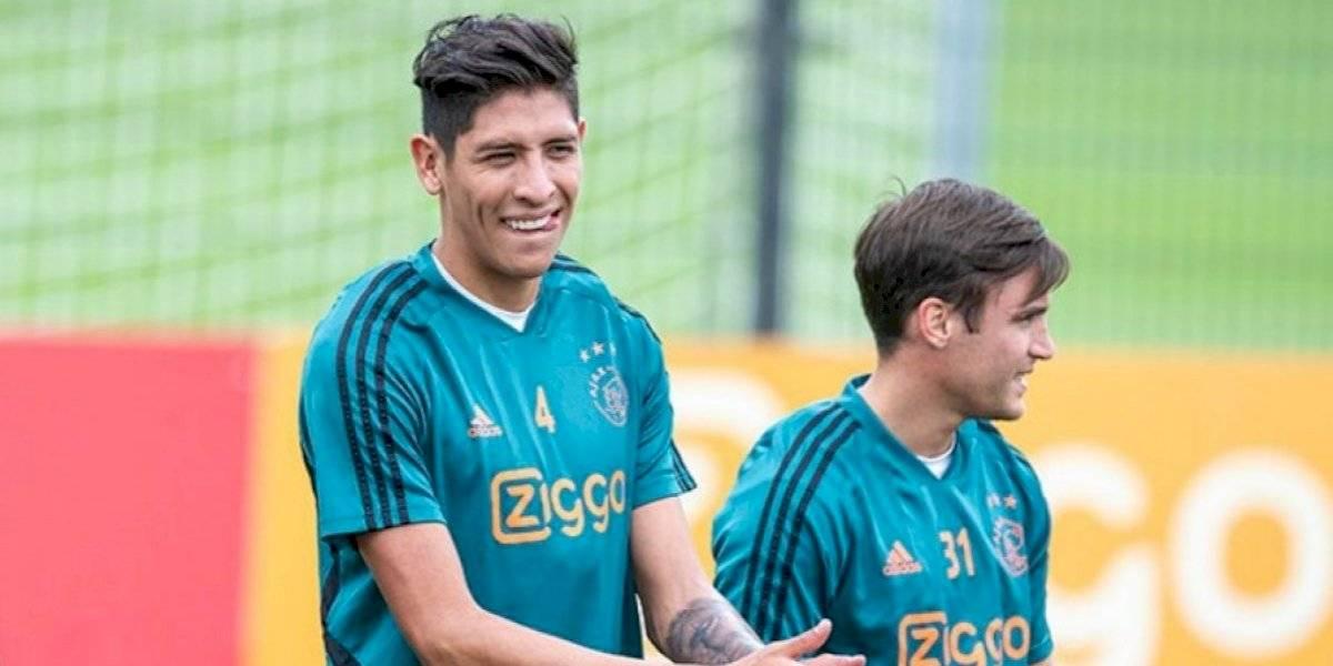 Ajax convoca a Edson Álvarez para la Champions League
