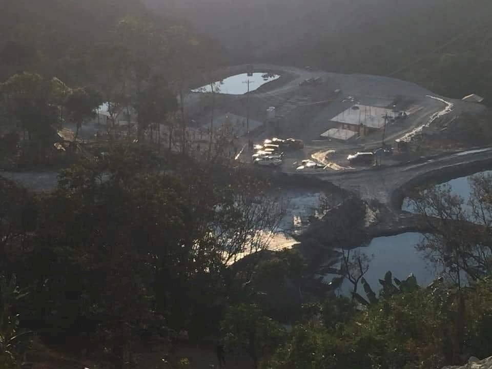 Explosion en mina en Zaruma cortesía