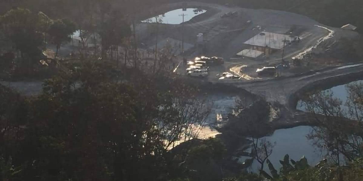 Los videos que dejó la explosión en mina de Zaruma