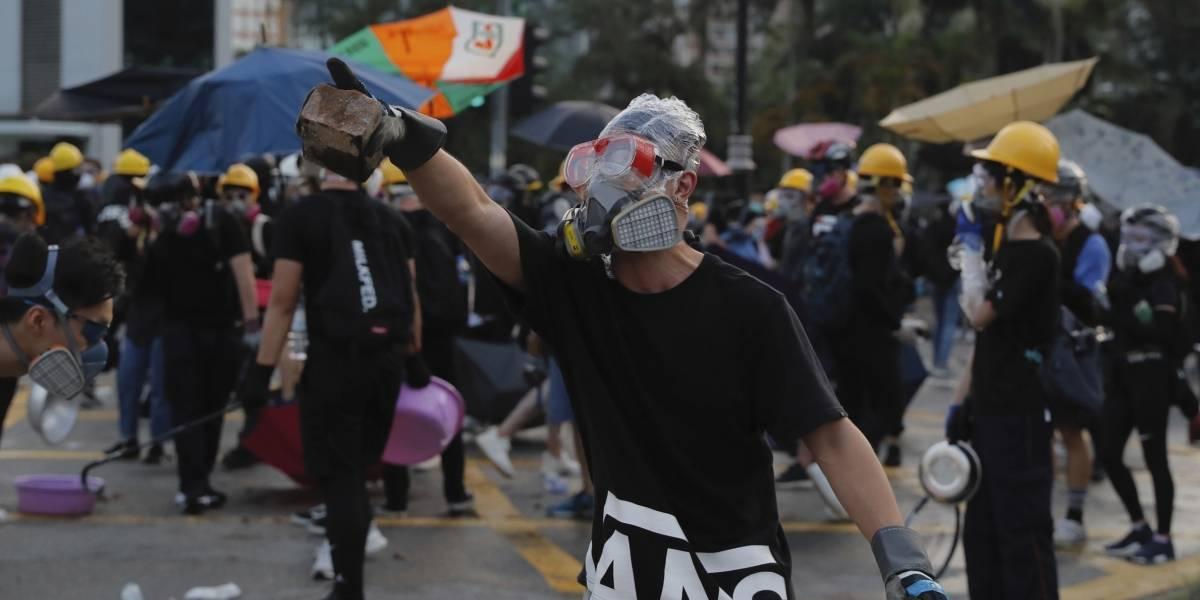 """""""El que juega con fuego, se quema"""": la preocupante advertencia de China a los manifestantes de Hong Kong"""