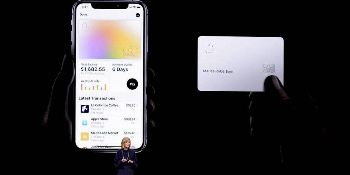 Llega la tarjeta de crédito de Apple