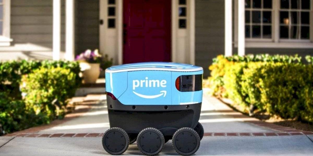 Amazon entregará paquetes con robots autónomos en California