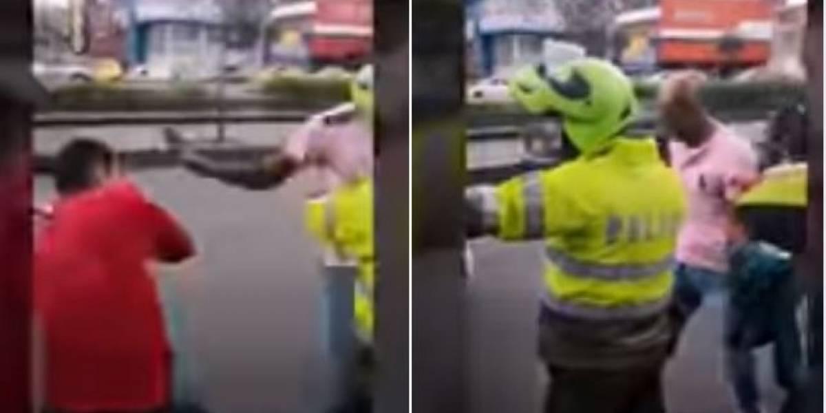 Comunidad le da paliza a presunto ladrón y él pide ayuda a la Policía