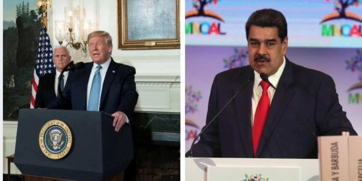 Golpe bajo de Estados Unidos a Venezuela en medio de la crisis