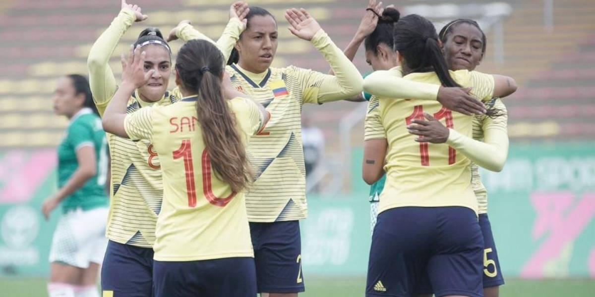 La Selección Colombia Femenina enfrenta a Costa Rica en busca de la final en los Panamericanos