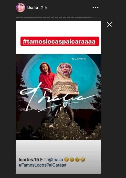 Thalía ET Instagram