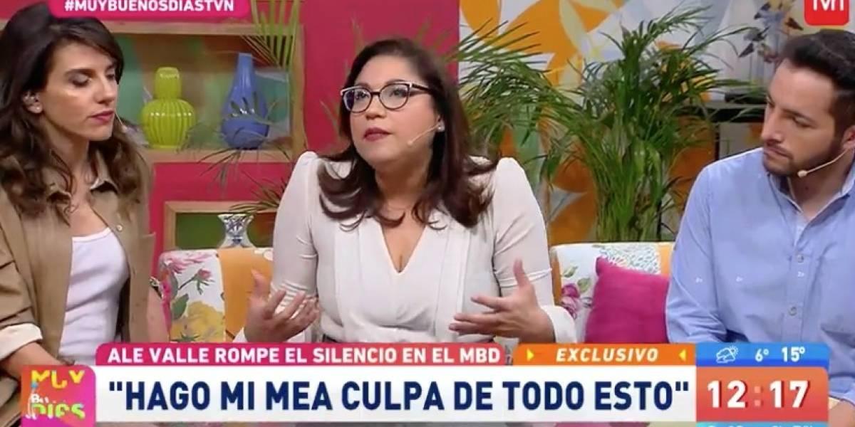 """Alejandra Valle tras su abrupta salida de La Red: """"Le encuentro razón a mi despido"""""""