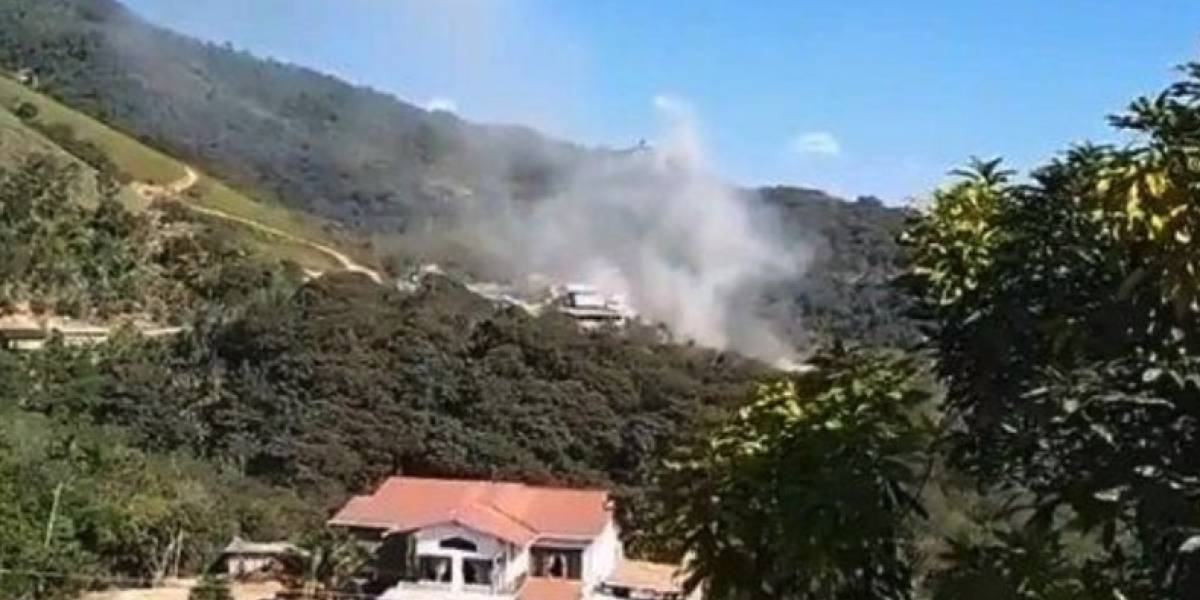 Restos de fallecidos en la explosión de mina en Zaruma se enviarán a Quito