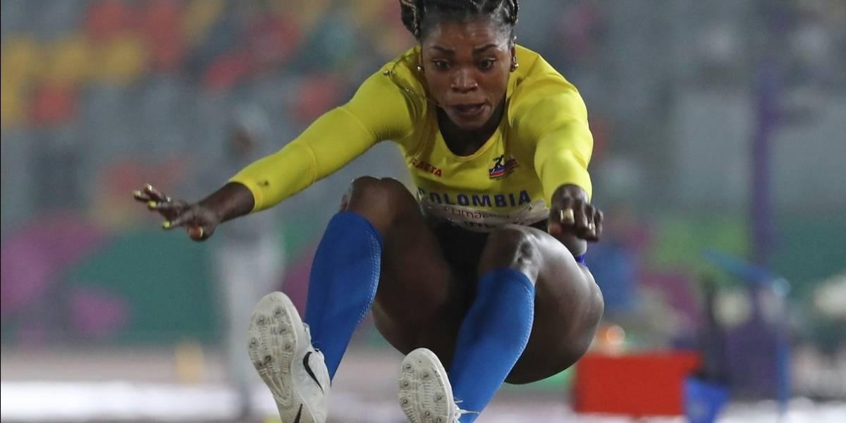 ¡Gracias por hacernos soñar! Caterine Ibargüen finalizó quinta en salto largo en Lima 2019