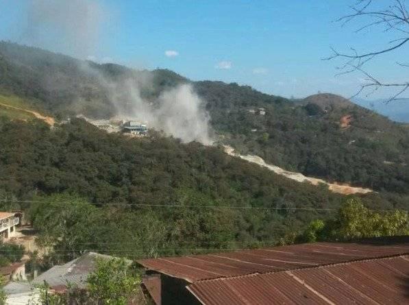 Explosion en mina en Zaruma captura de pantalla