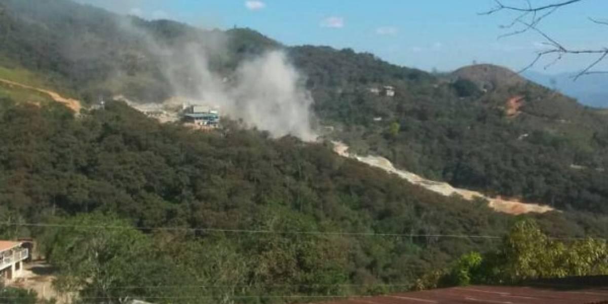 Zaruma: Arcom suspende y prohíbe actividad minera en el campamento donde explotó una mina