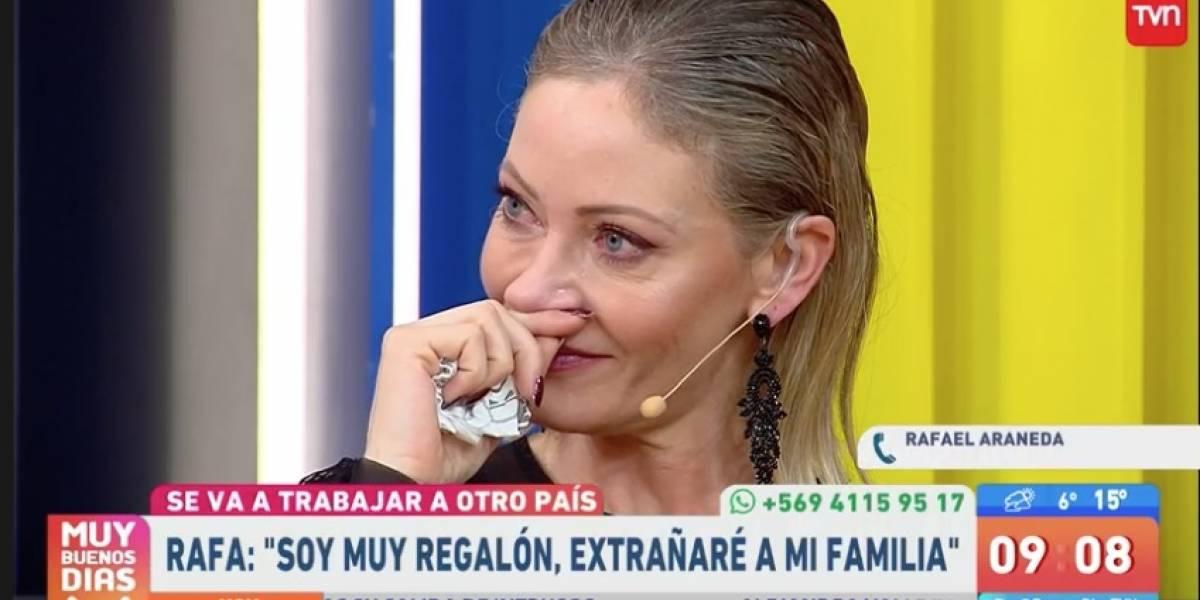 "La pena de Marcela Vacarezza: ""Rafa se perderá muchos momentos en familia"""