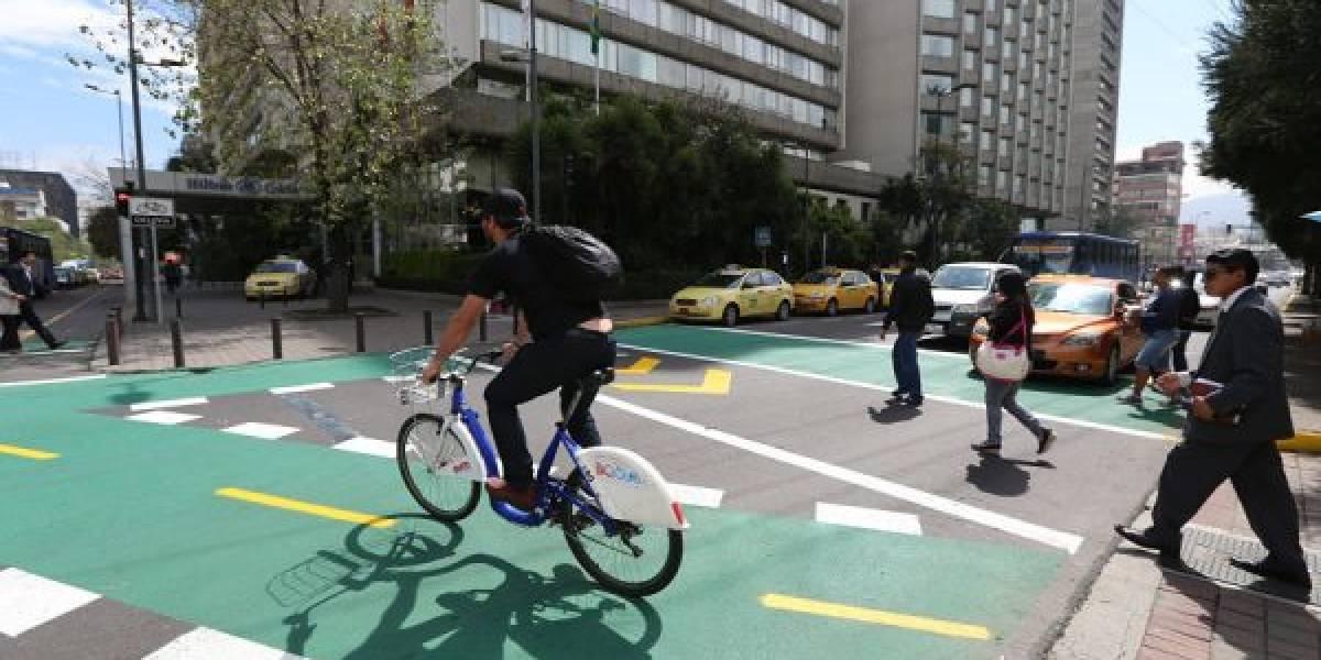 Ciclovías en Quito se ubicarán en calles secundarias