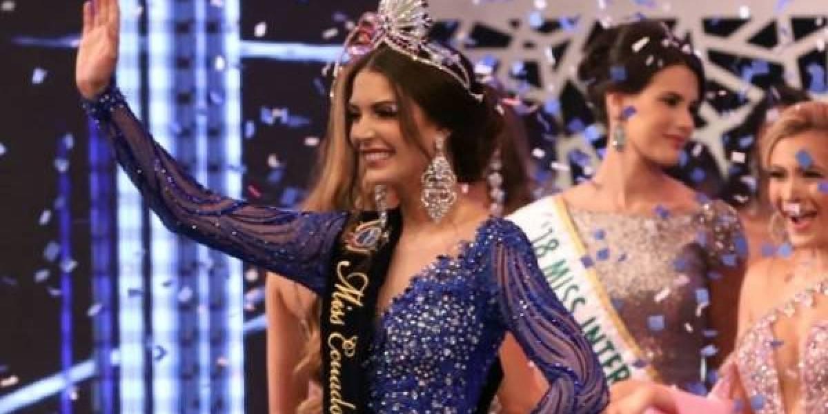 Actriz hace parodia del error de Cristina Hidalgo en el Miss Ecuador 2019