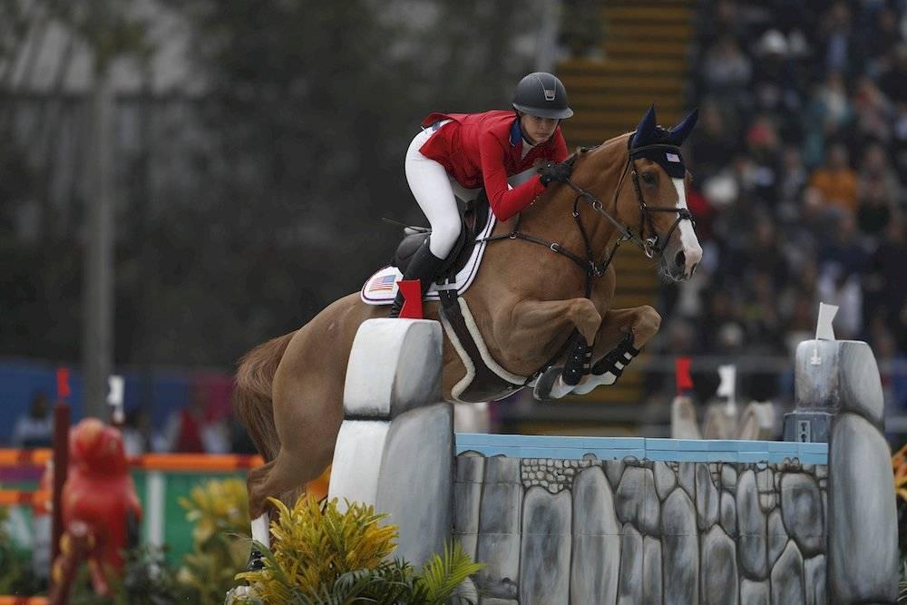 Hija de Steve Jobs brilla en la equitación de los Juegos Panamericanos