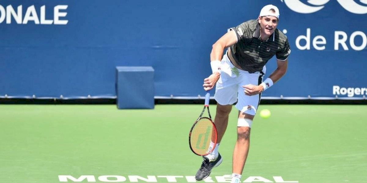 Cristian Garin tendrá un partido de peso y se medirá con John Isner en el Masters de Montreal