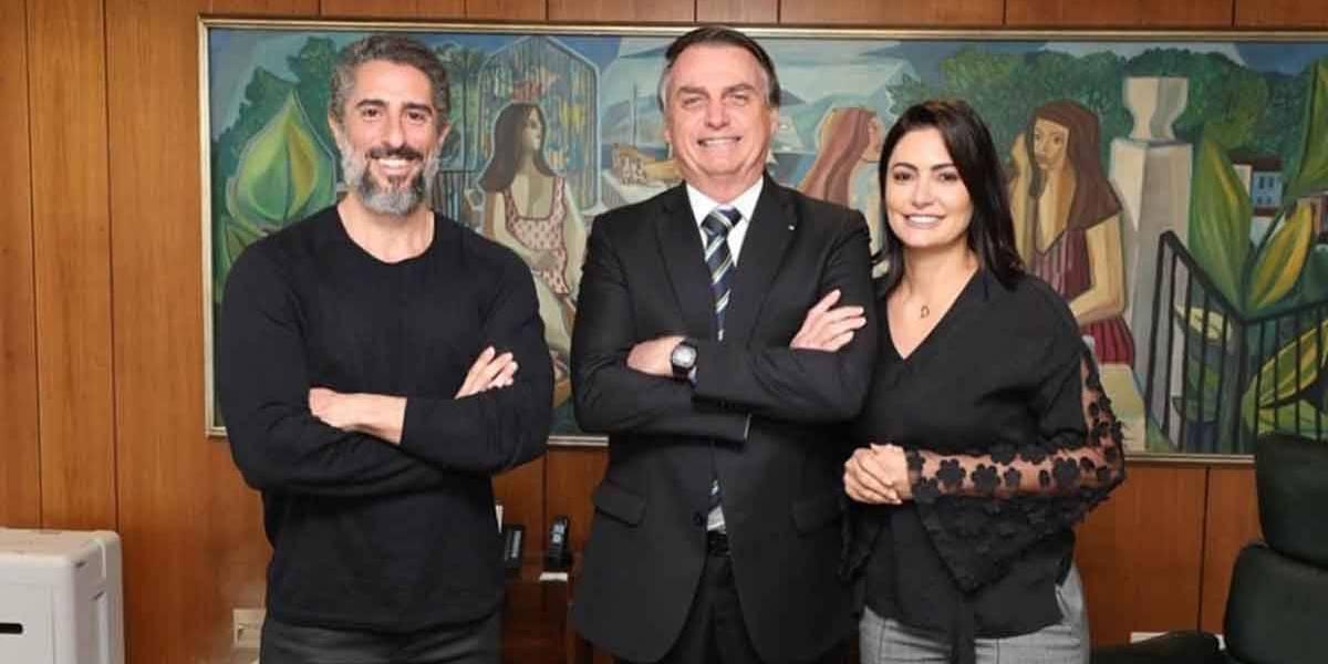 Marcos Mion fala sobre encontro com Bolsonaro: 'Meu partido é o autismo'