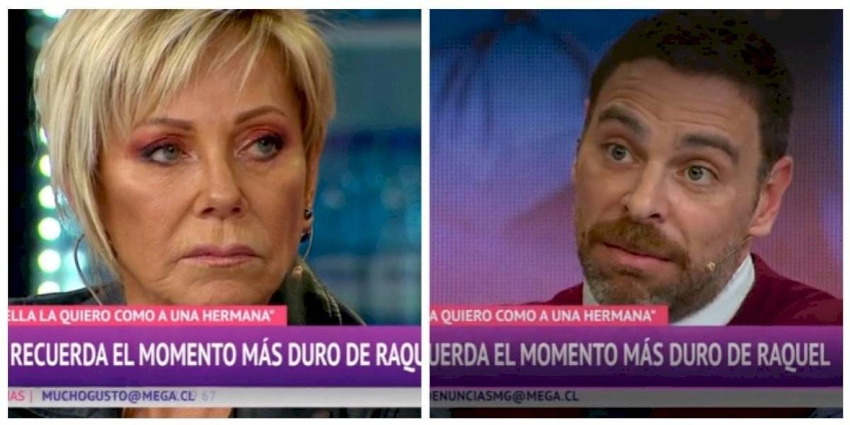 """¿Momento incómodo?: Raquel Argandoña le """"paró los carros"""" a José Antonio Neme en """"Mucho Gusto"""""""