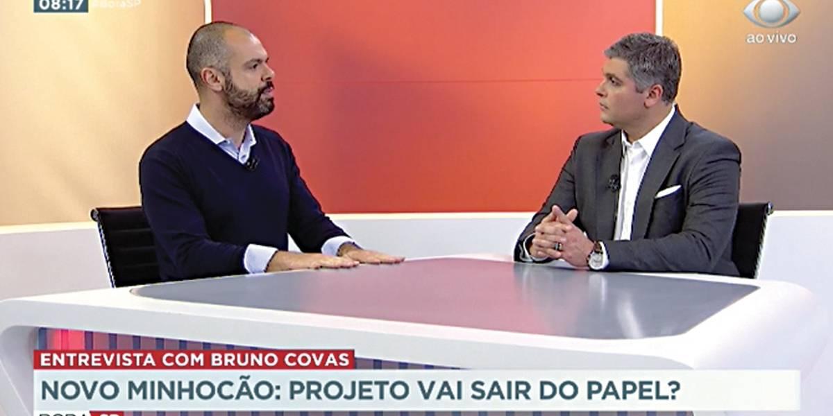 Parque Minhocão: próximo passo é liberar a obra, diz Covas