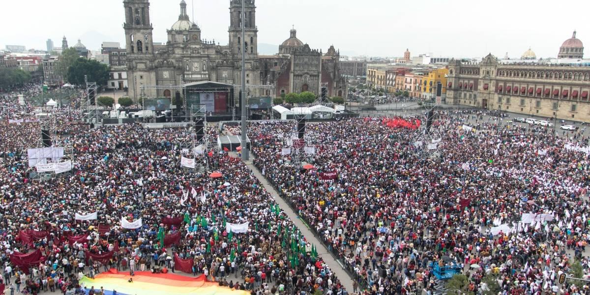 INE descarta actos anticipados de campaña de AMLO