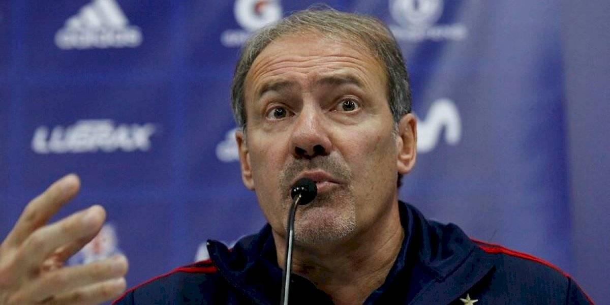 """Sergio Vargas y el nuevo DT de la U: """"Ofreceremos un contrato hasta fin de año, si seguimos en Primera podemos extenderlo"""""""