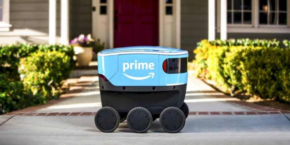 Ya no son solo drones: Amazon entregará paquetes con robots en EEUU