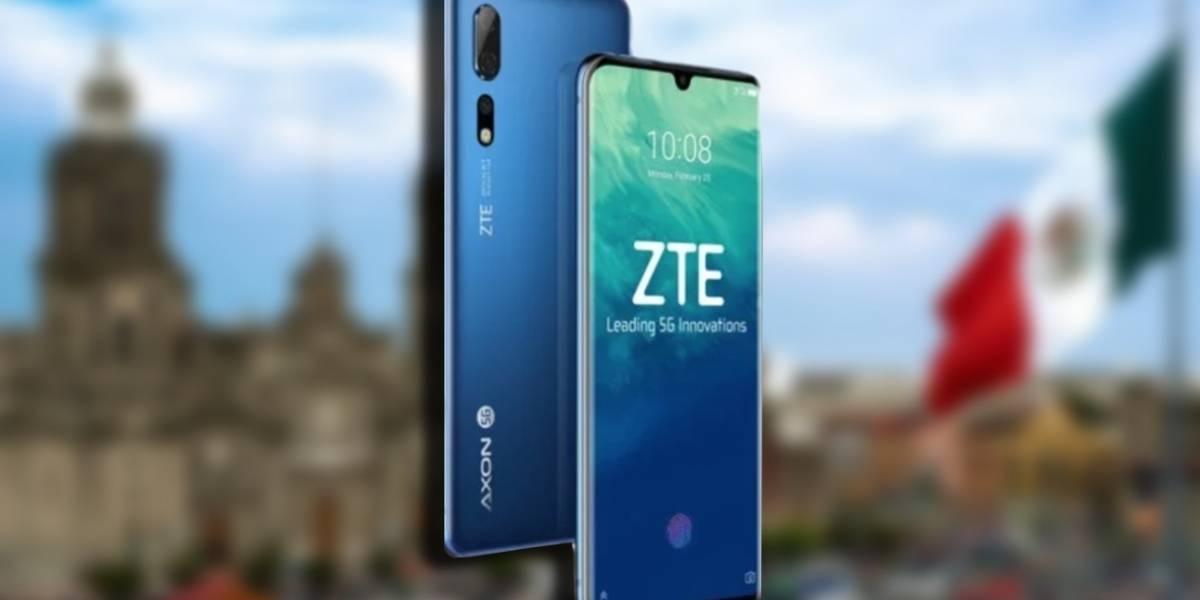 ZTE trae el Axon 10 pro a territorio mexicano por primera vez