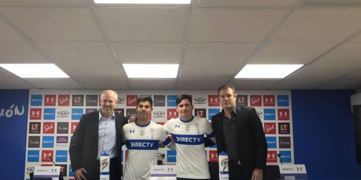 """La ilusión del Poncho Parot y el Gato Silva en su regreso a la UC: """"Es motivante llegar a un equipo que va puntero"""""""