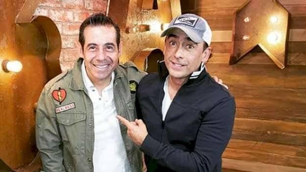 Yordi Rosado y Adal Ramones